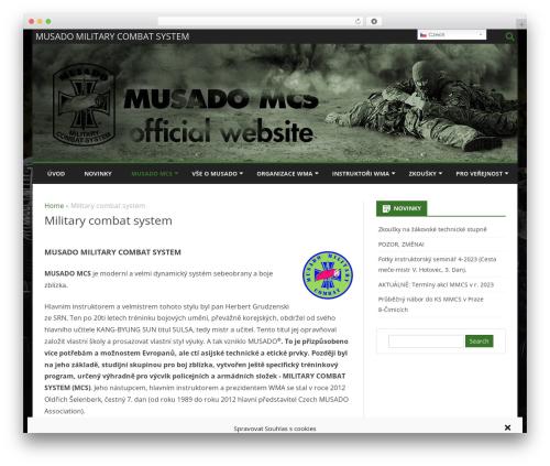 Ribosome Pro WordPress website template - mcs.musadocz.cz