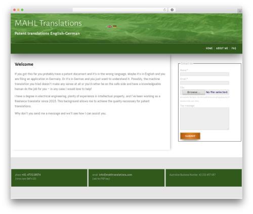 SG Diamond WordPress template free - mahltranslations.com