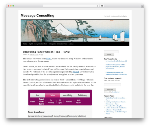 Free WordPress Tippy plugin - messageconsulting.com
