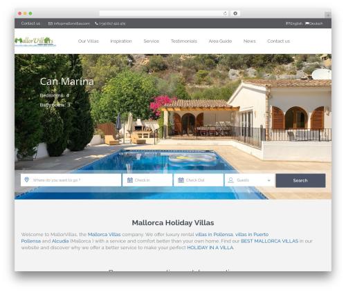 WordPress theme WpRentals 1.22 - mallorvillas.com