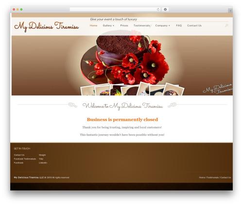 WP template Jewelry Shop - mydelicioustiramisu.com