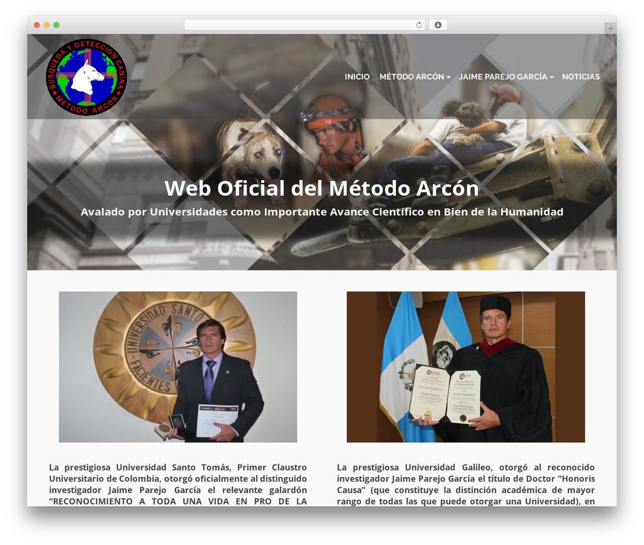 WP theme Pinnacle - metodoarcon.org