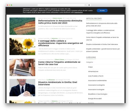 ADMAG WordPress news template - mondoecoblog.com