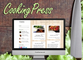 CookingPress food WordPress theme
