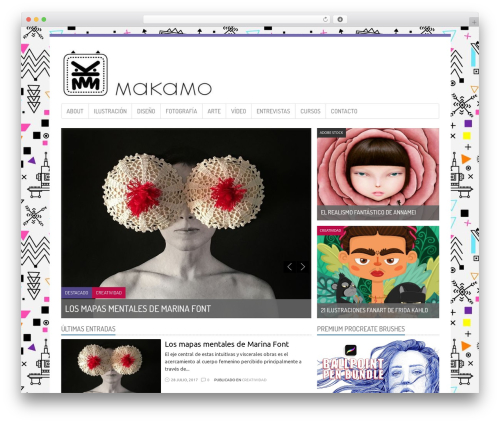 WordPress my-pinterest-badge plugin - makamo.es