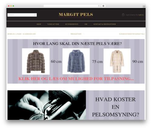 LEGENDA WordPress store theme - margitpels.dk