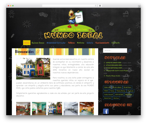 Merlin WordPress template free - mundoideal.cl