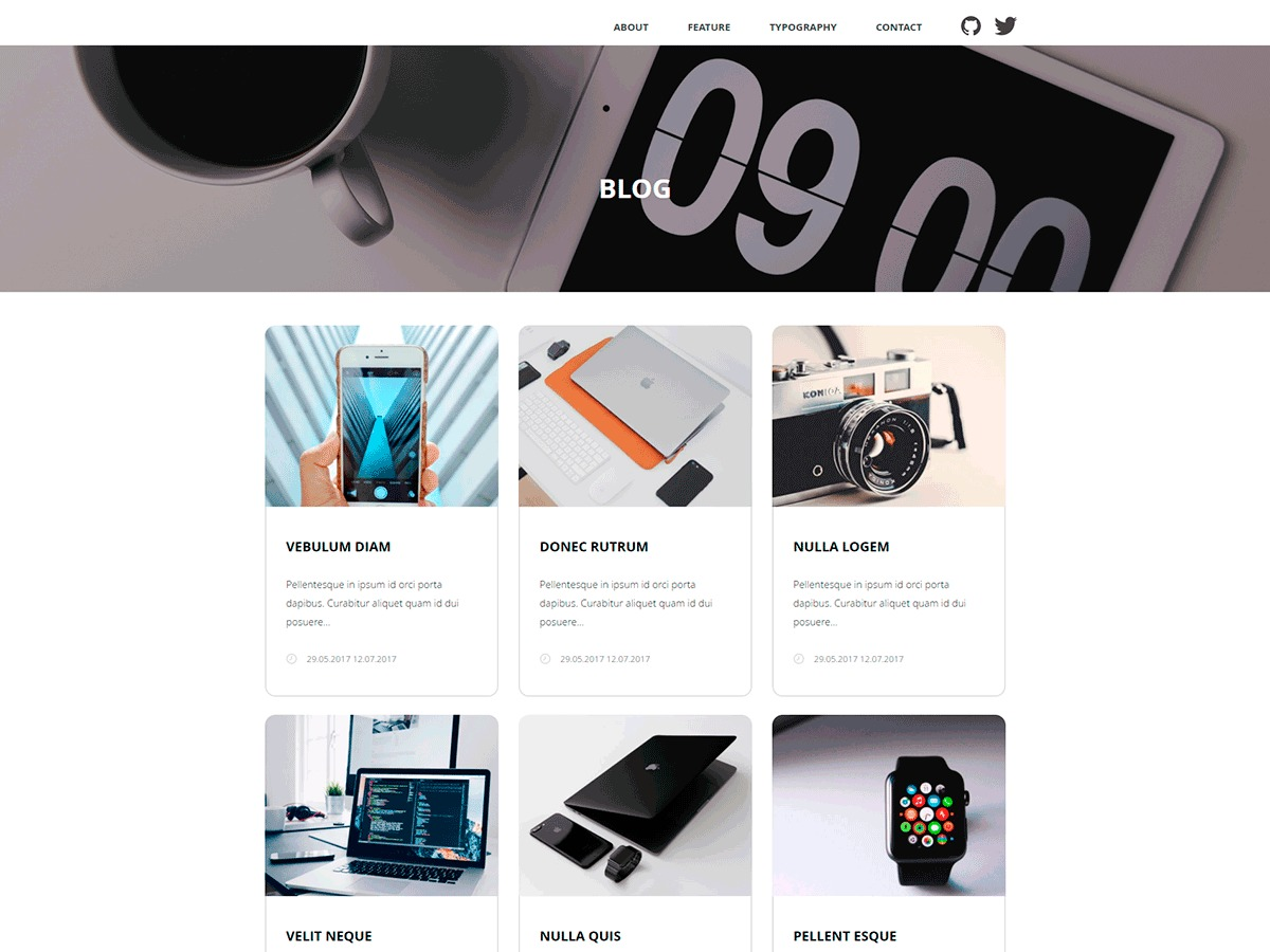 Qoob free WordPress theme