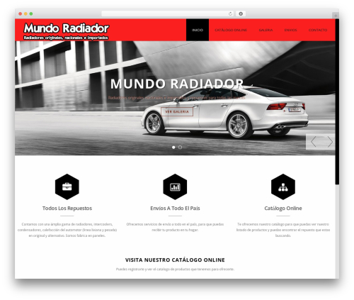 Theme WordPress Advertica - mundoradiador.com.ar