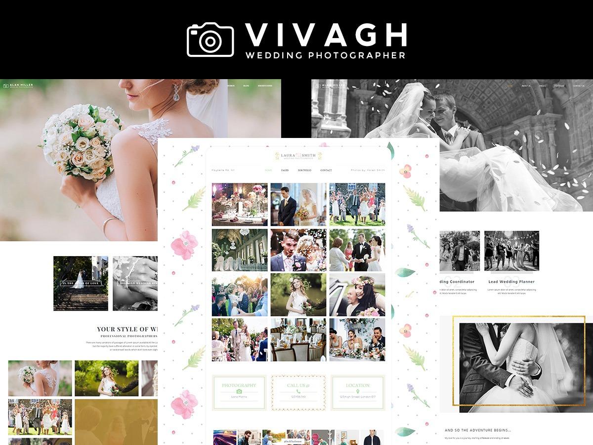 Vivagh Child best portfolio WordPress theme