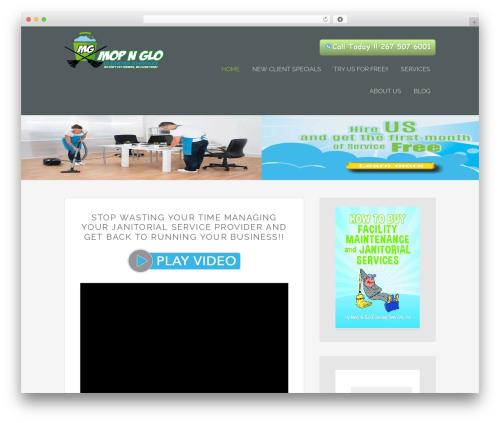 WordPress theme Envy - mopandglo.com