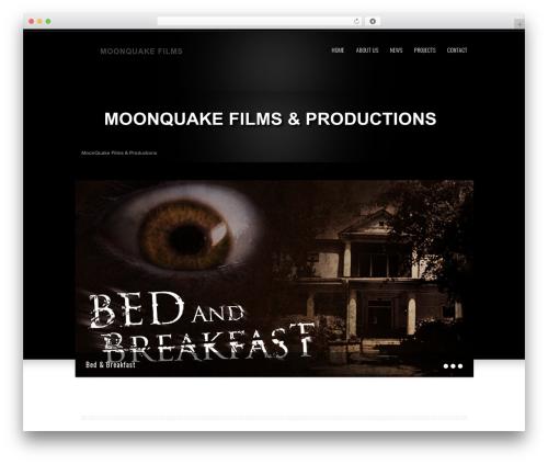 WordPress theme Klasik - moonquakefilms.com