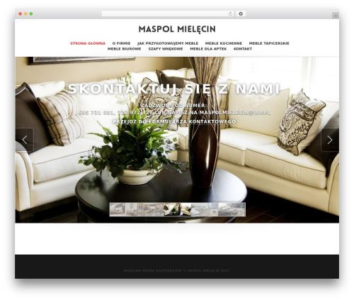 WordPress website template Higher - maspol-mielecin.pl