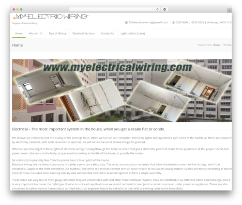 Best WordPress template Astrum - myelectricalwiring.com