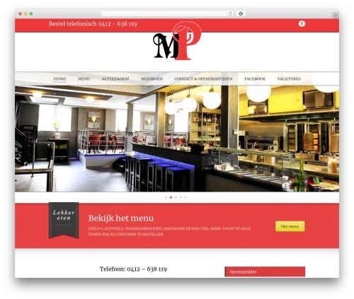 Delicieux template WordPress - muratsplace.nl