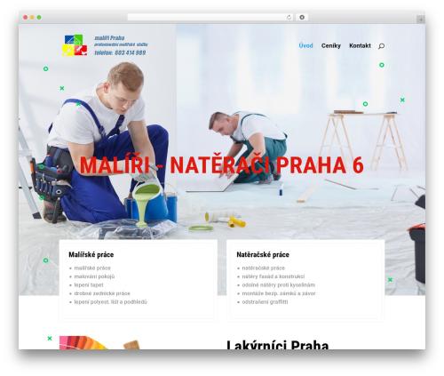 Divi WordPress website template - maliri-praha.info