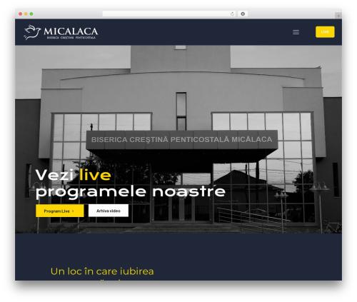 Template WordPress Betheme - micalaca.ro
