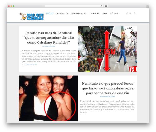 The Huxley WordPress page template - masquecena.com