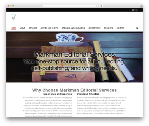 WordPress Slider Revolution plugin - marlamarkman.com