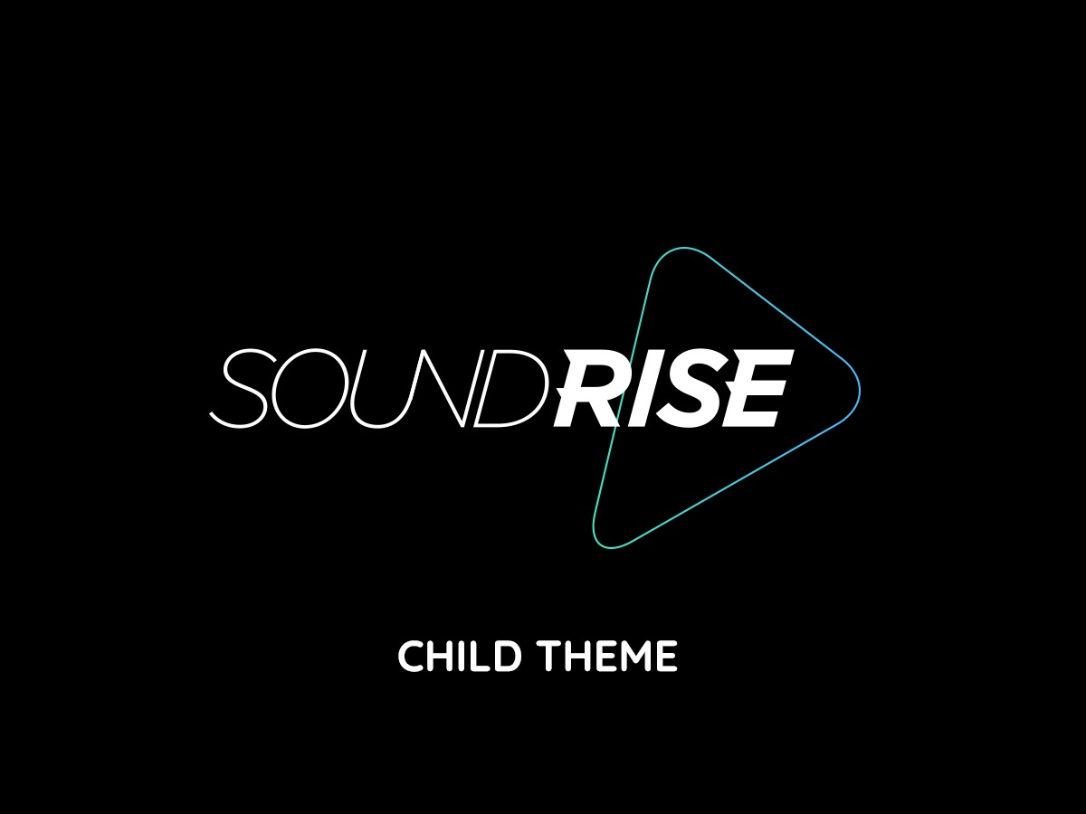 WP template SoundRise Child Theme - Ultimate Creative WP Theme