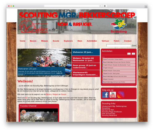 WP theme Scout IT! - mgrbekkersgroep.nl
