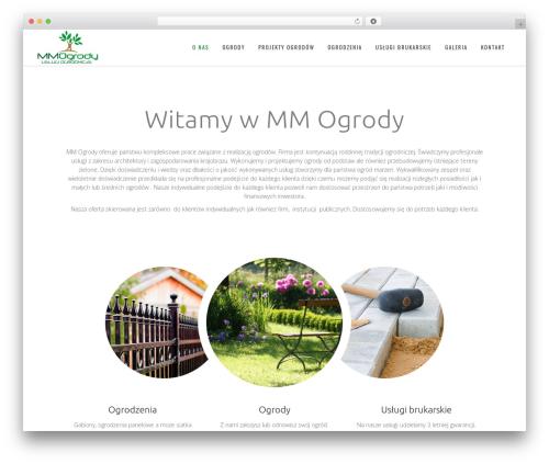 Berry best WordPress template - mmogrody.pl