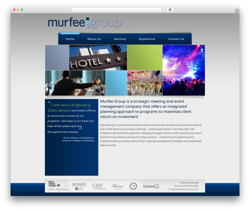 Clearly Modern medical WordPress theme - murfeegroup.com