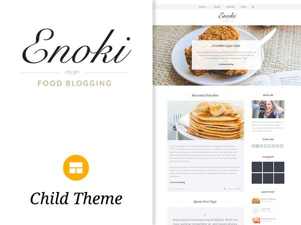 Enoki Child Theme WP template