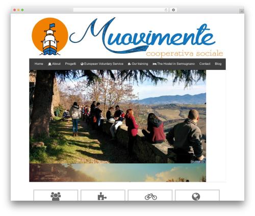 isis free WordPress theme - muovimente.it
