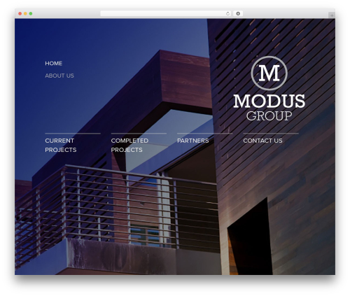 MODUS theme WordPress - modusgroup.co.nz
