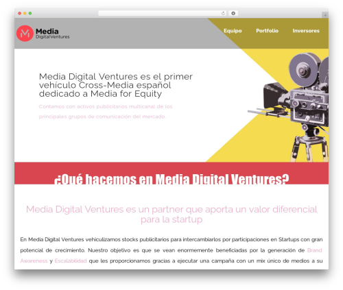 rosetta WordPress theme - mediadigitalventures.com