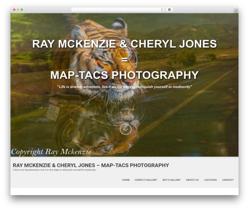 SKT White WordPress theme image - maptacsphotography.com