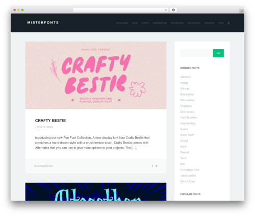Sleeky theme free download - misterfonts.com