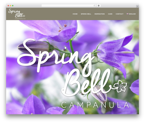 Spring Bell best WordPress theme - myfavouritebells.com
