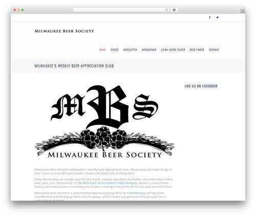 Template WordPress Euxino - milwaukeebeersociety.com