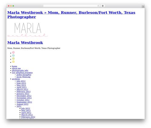 Theme WordPress ProPhoto - marlawestbrookphotography.com