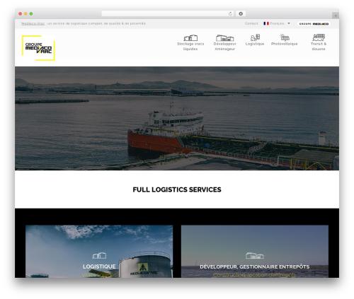 WordPress theme Sanabel - mediacovrac.com
