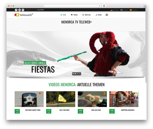 WP template Subway - menorca.teleweb.es