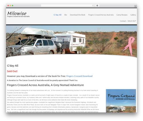Celestial Reloaded WordPress theme - milowise.com