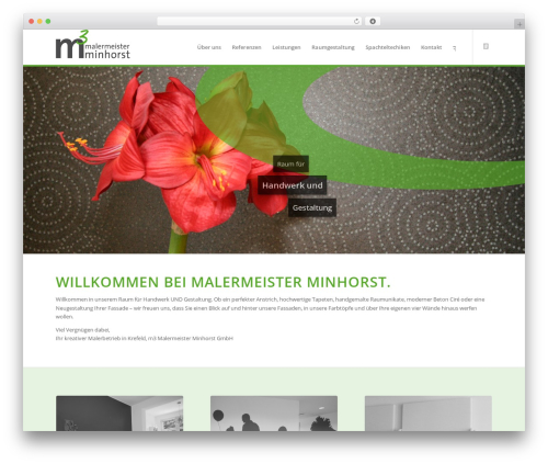Enfold top WordPress theme - malermeister-minhorst.de