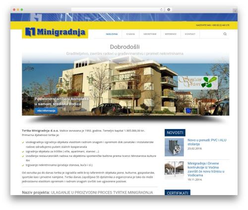 WordPress special-recent-posts plugin - minigradnja.hr