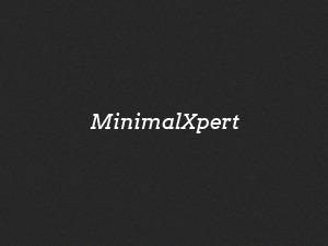 Minimal Xpertn WordPress theme design