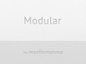 Modular Child WP template