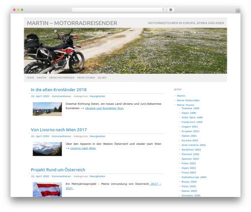 picolight WordPress blog theme - martinbike.info/blog