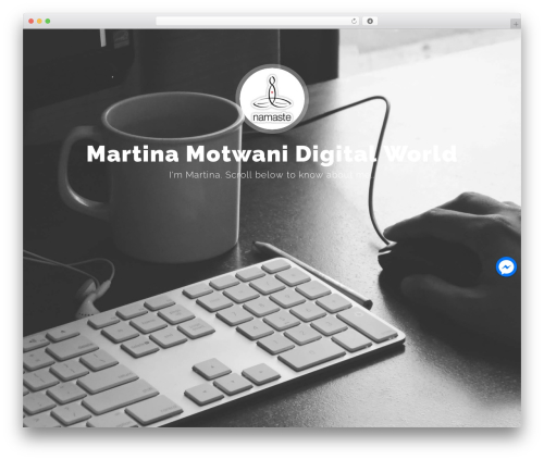 Free WordPress Live Chat with Facebook Messenger plugin - martinamotwani.com