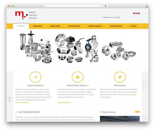 RT-Theme 18 best WordPress theme - mirayexport.com