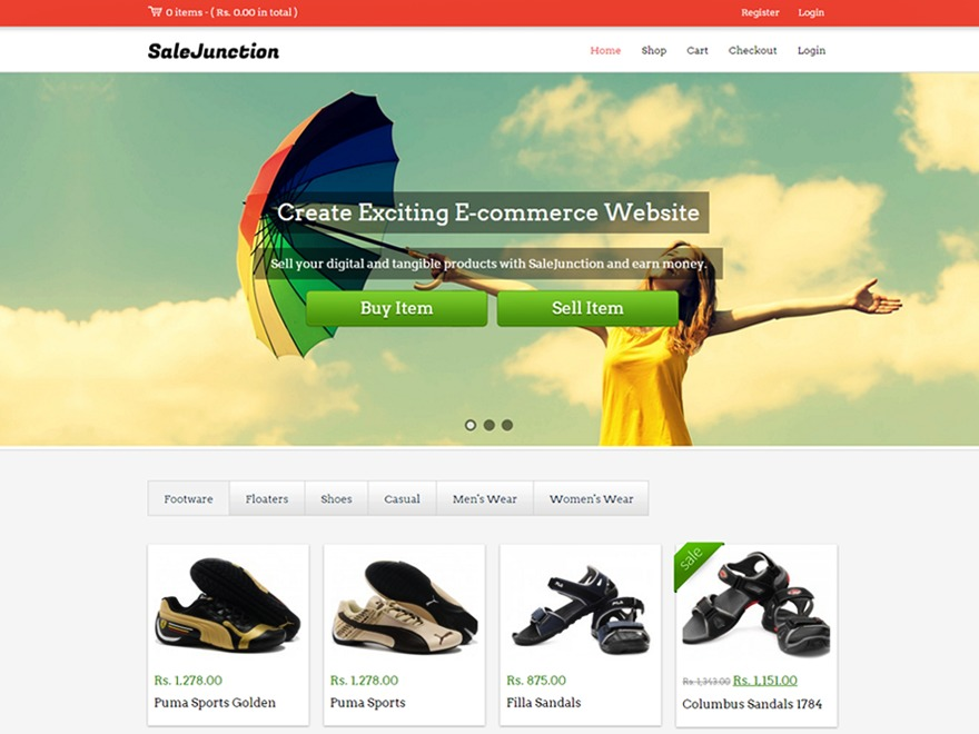 SaleJunction Pro V2 WordPress shop theme