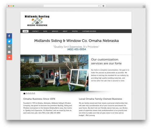 WordPress addthis-smart-layers plugin - midlandssiding.com