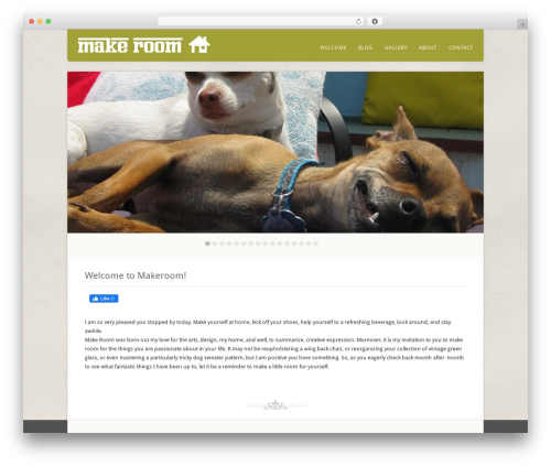 Template WordPress Acoustic - makeroom.info