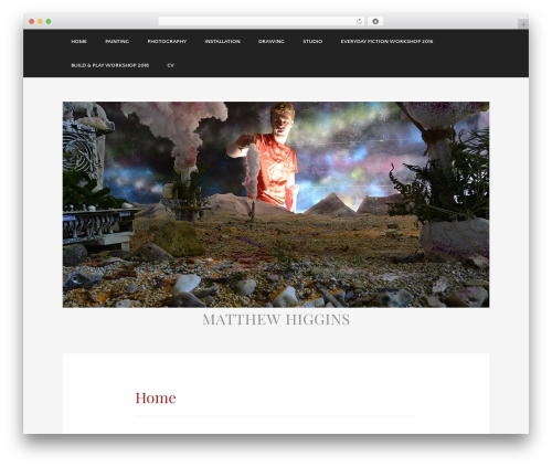 Template WordPress Museum - matthiggins87.com